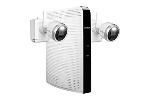 Lorex 1080p HD 64GB Wire-Free Security System with Two Battery-Operated...