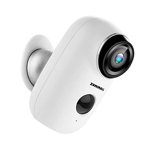 Wireless Rechargeable Battery Powered WiFi Camera, Home Security Camera, Night Vision,...