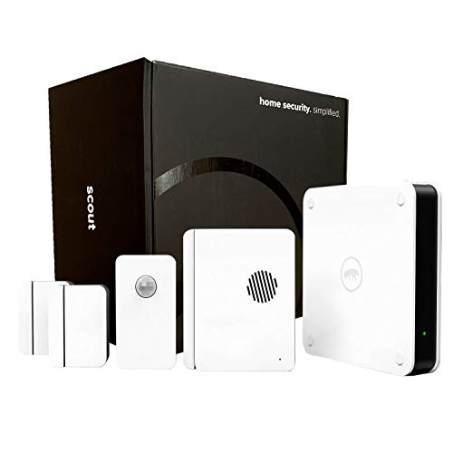 Scout Alarm Smart DIY Wireless Home Security System   5 Piece Kit - Perfect...