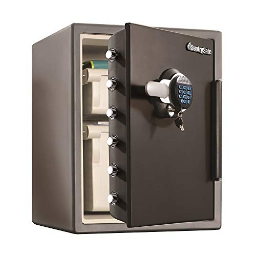 SentrySafe SFW205GQC Fireproof Safe and Waterproof Safe with Dial...
