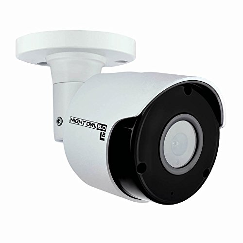 Night Owl Security Add-on Wired 4K UHD IP Camera with Audio, White...