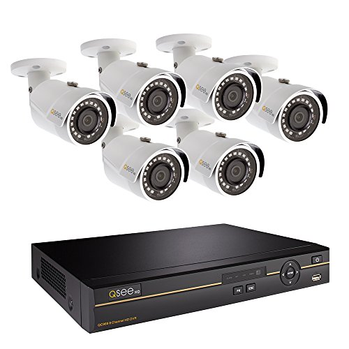 Q-See QC968-6DX-2 | Surveillance System with 8-Channel HD Analog DVR & 2TB...