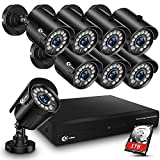 XVIM 8CH 1080P Security Camera System Outdoor with 1TB Hard Drive...