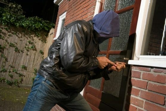 burglaries entering home