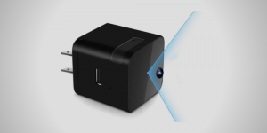 A USB Wall Charger Adapter Hidden Camera from Touyinger